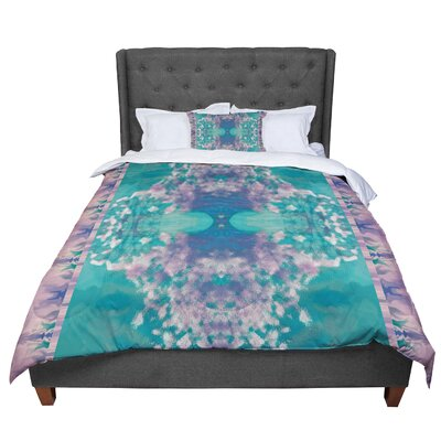 Nina May Ashby Blossom Comforter Size: King