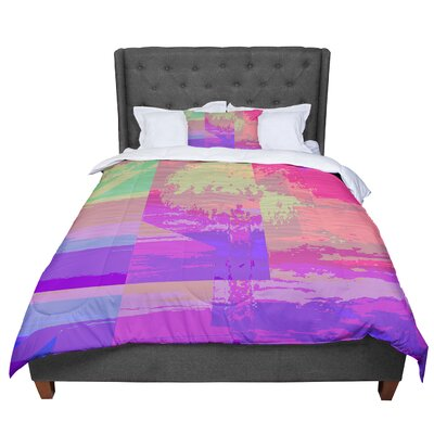 Nina May Impermiate Poster Comforter Size: King