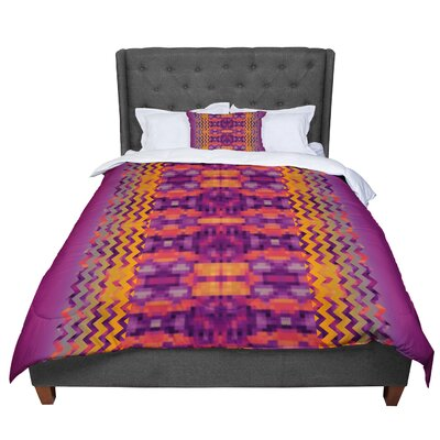 Nina May Duvet Cover Size: Twin