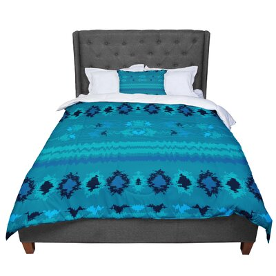 Nina May Nava Tribal Comforter Size: Queen