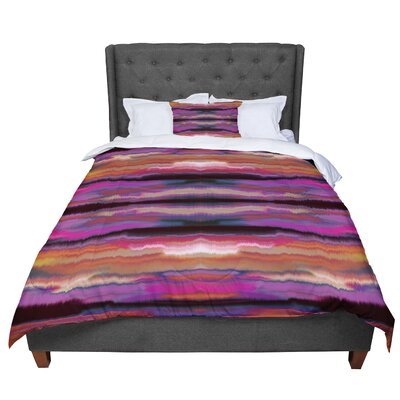 Nina May Sola Color Comforter Size: King