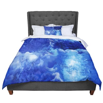 Nina May Saltwater Collage Comforter Size: Queen