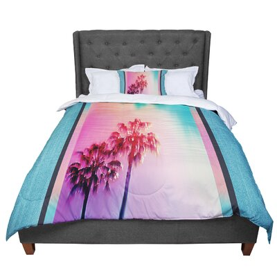 Nina May La Rainbow Comforter Size: King