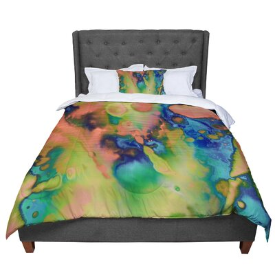 Nina May Acid Splash Down Comforter Size: Queen