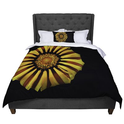 Nick Nareshni Flower Floral Photography Comforter Size: Twin