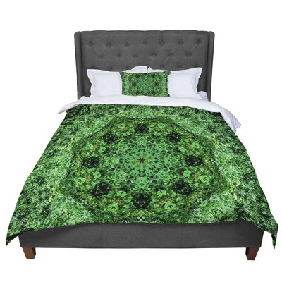 Nick Nareshni Forest Mandala Geometric Comforter Size: King