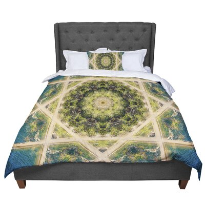 Nick Nareshni Forest Mandala Geometric Comforter Size: Twin