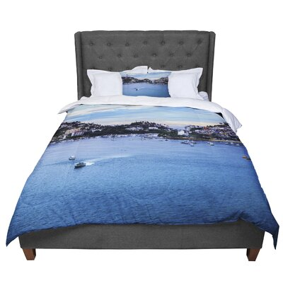 Nick Nareshni Puerto Rico Coastline Photography Comforter Size: King
