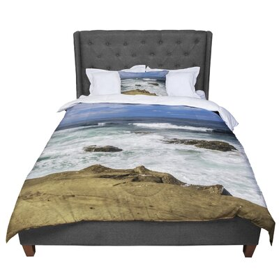Nick Nareshni Exposed above Water Photography Comforter Size: King