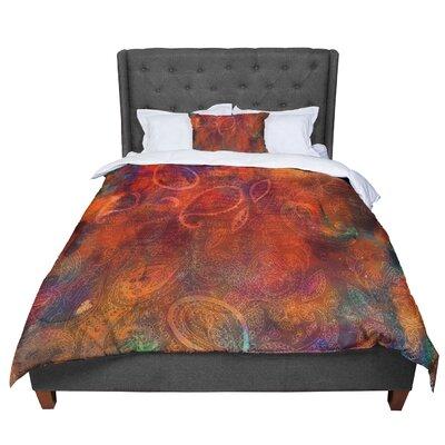 Nikki Strange Tie Dye Paisley Comforter Size: King