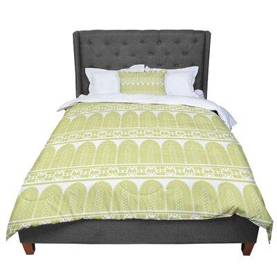 Nandita Singh Tribal Pattern Comforter Size: King