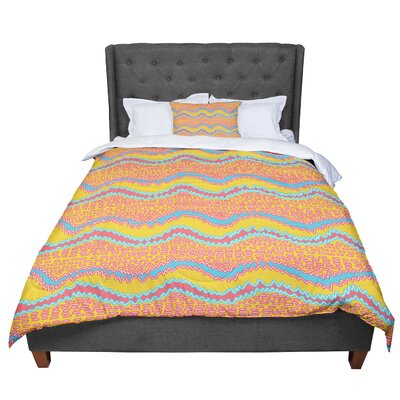 Nandita Singh Waves Comforter Size: Queen