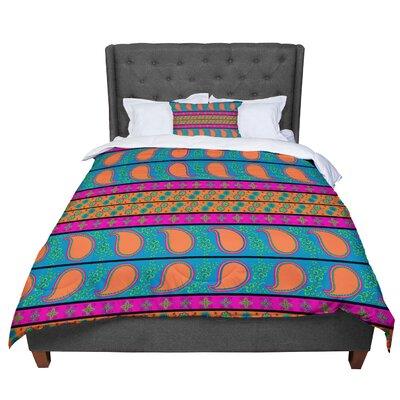 Nandita Singh Bohemian V Comforter Size: Queen