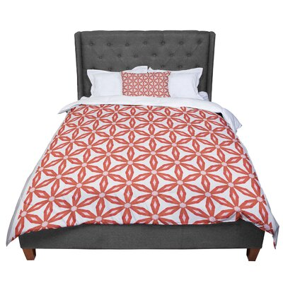 Nic Squirrell Stars in Circles Comforter Size: King