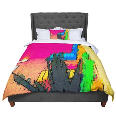Oriana Cordero Days of Summer Rainbow Comforter Size: Twin