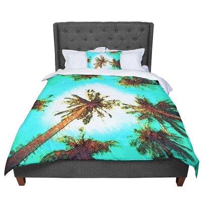 Oriana Cordero Paradise Trees Comforter Size: Twin