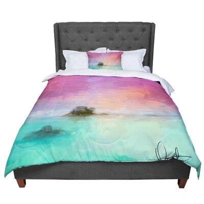 Oriana Cordero Tenerife Comforter Size: Queen
