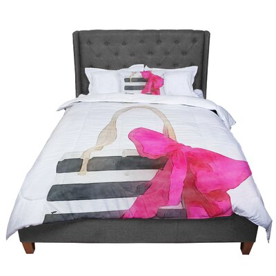 Oriana Cordero French Outing Comforter Size: King