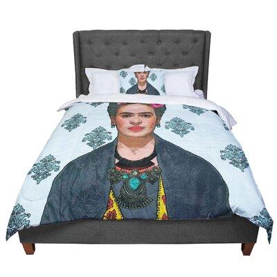 Oriana Cordero Frida Kahlo-Trendy V2 Comforter Size: King