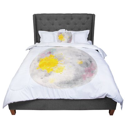 Oriana Cordero Moonlight Comforter Size: Queen