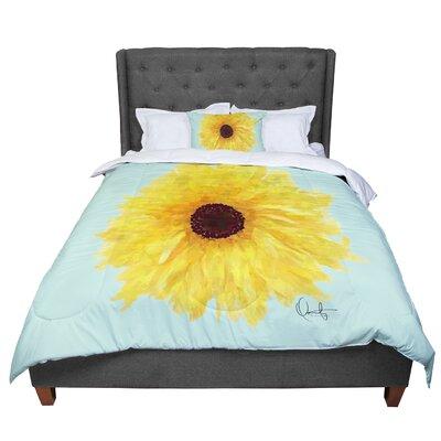 Oriana Cordero Sol Seafoam Comforter Size: King
