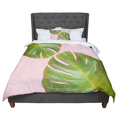 Oriana Cordero Tropico V3 Comforter Size: King