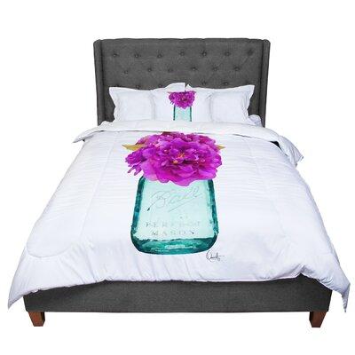 Oriana Cordero Perfect Mason V3 Comforter Size: Queen
