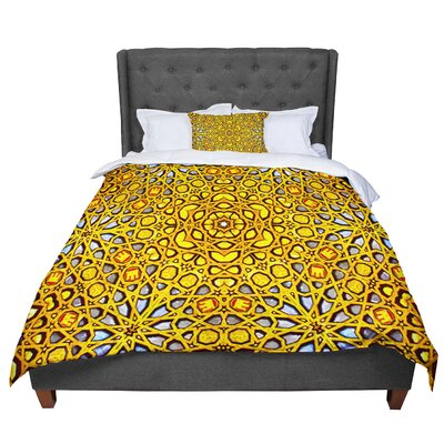 Philip Golden Kaleidoscope Comforter Size: Twin