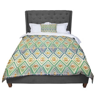 Pom Graphic Design Celebration Comforter Size: Queen
