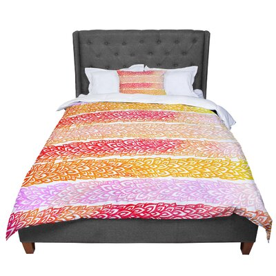 Pom Graphic Design Leafs from Paradise Comforter Size: King
