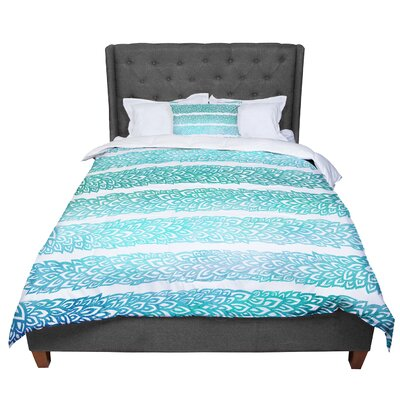 Pom Graphic Design Leafs from Paradise II Comforter Size: Queen