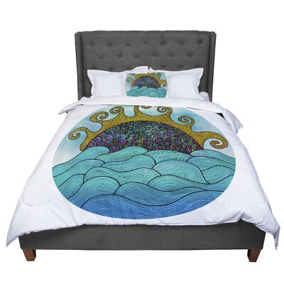 Pom Graphic Design Oceania Comforter Size: Queen