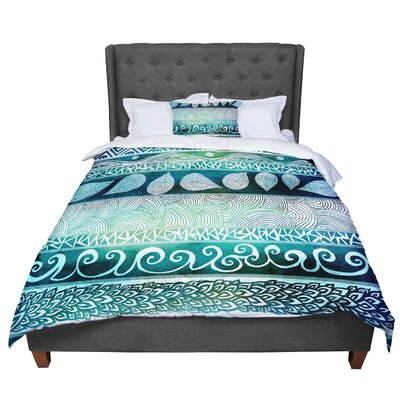 Pom Graphic Design Dreamy Tribal Comforter Size: Twin