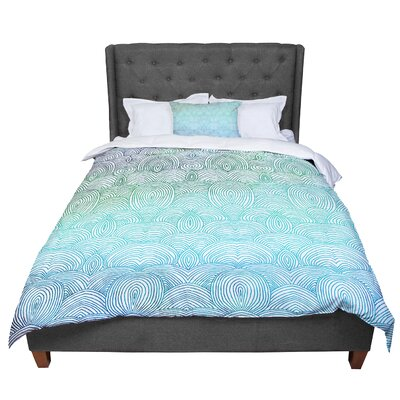 Pom Graphic Design Clouds in the Sky Comforter Size: Queen