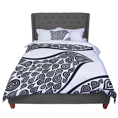 Pom Graphic Design Bird In Disguise Comforter Size: Twin