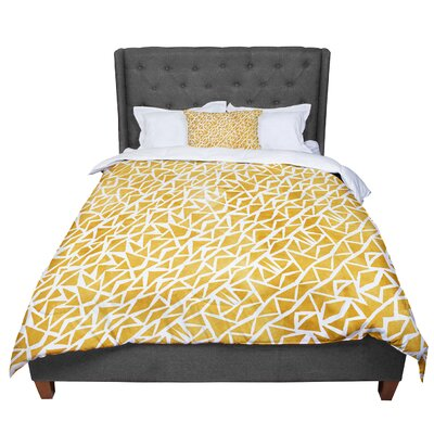Pom Graphic Design Tribal Origin Comforter Size: King