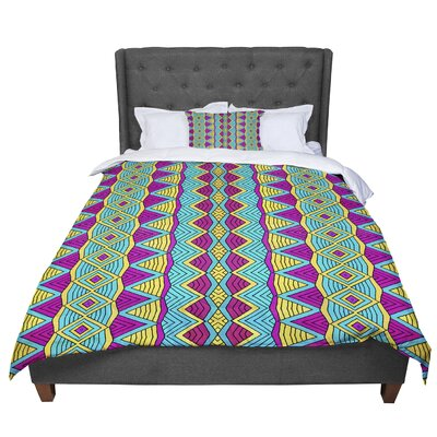 Pom Graphic Design Tribal Soul II Comforter Size: Queen