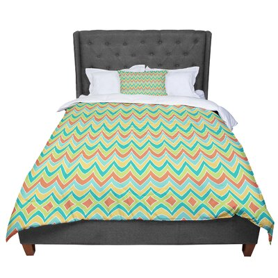 Pom Graphic Design Bright and Bold Comforter Size: Queen