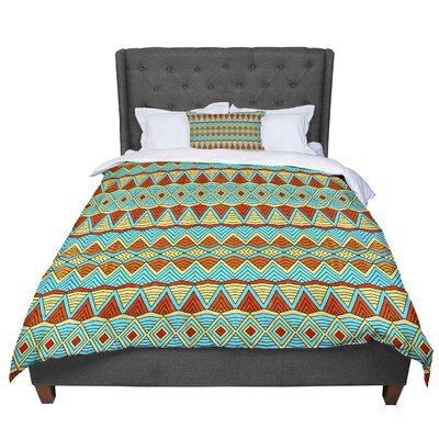 Pom Graphic Design Tribal Soul Comforter Size: Queen
