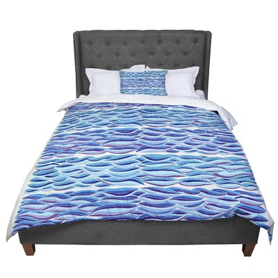 Pom Graphic Design The High Sea Comforter Size: Queen