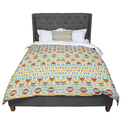 Pom Graphic Design Tribal Imagination Comforter Size: Twin