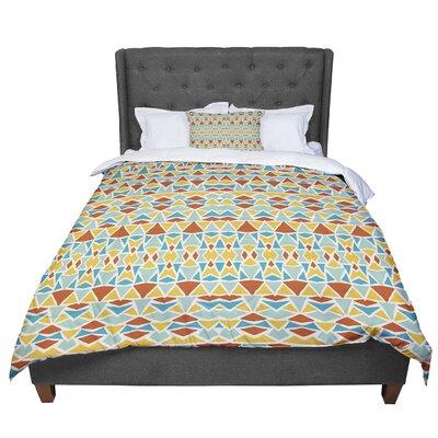 Pom Graphic Design Tribal Imagination Comforter Size: King