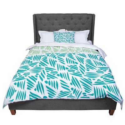 Pom Graphic Design Bamboo Comforter Size: Queen