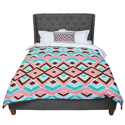 Pom Graphic Design Eclectic Comforter Size: Queen