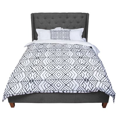 Pom Graphic Design Tribal Expression Comforter Size: Twin