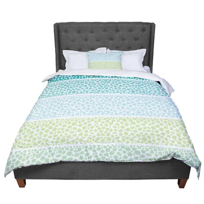 Pom Graphic Design Zen Pebbles Comforter Size: Twin