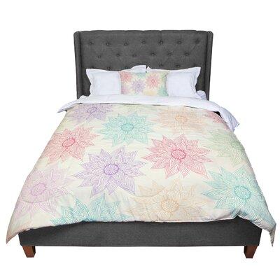 Pom Graphic Design Spring Florals Comforter Size: Queen