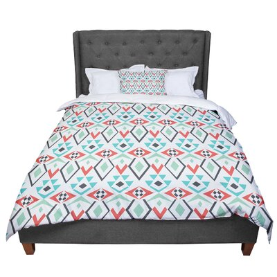 Pom Graphic Design Tribal Marrakech Comforter Size: Twin
