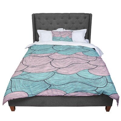 Pom Graphic Design Summerlicious Comforter Size: Queen