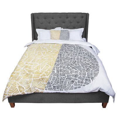 Pom Graphic Design Inca Day and Night Comforter Size: King